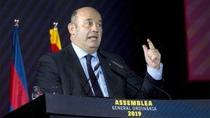 El CEO del FC Barcelona, Òscar Grau