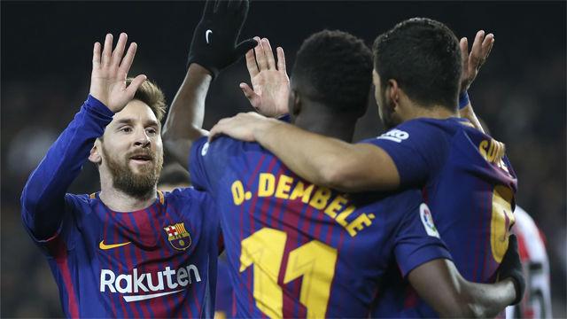 El debate por el cuarto delantero continúa en el Barça