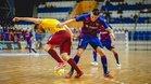 Dyego firmó el gol del empate azulgrana ante el Sparta