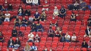 Estadios al 30% de su capacidad y distancia entre hinchas, el nuevo fútbol