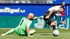 Ferreyra se lesionó en la misma acción de su gol