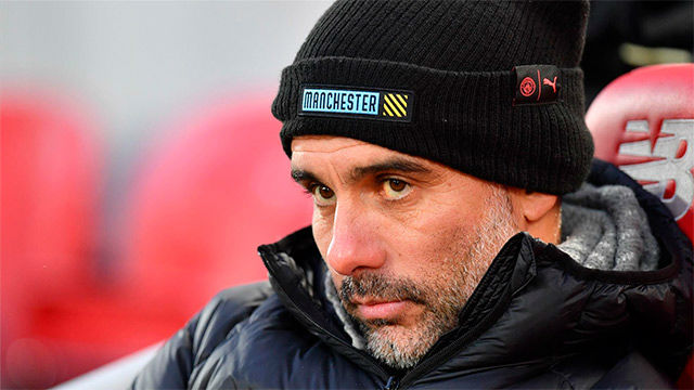 Guardiola, sobre el árbitro: Preguntad a los grandes jefes, ellos lo entienden todo