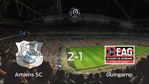 El Guingamp cae derrotado frente al Amiens SC en el Stade de la Licorne (2-1)