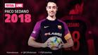 Imagen promocional con la que el FC Barcelona anunció la continuidad de Paco Sedano