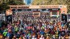 Imagen de la salida del Medio Maratón de Valencia el 2018