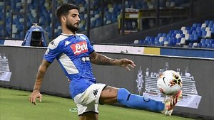 Insigne se lesionó durante el duelo ante la Lazio
