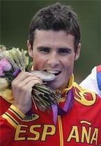 Javier Gómez Noya conquistó la plata en triatlón