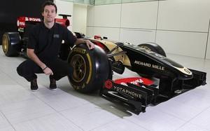 Jolyon Palmer, nuevo reserva de Lotus