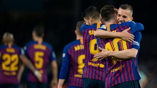 Jordi Alba: Perder esta Liga sería de muy tontos