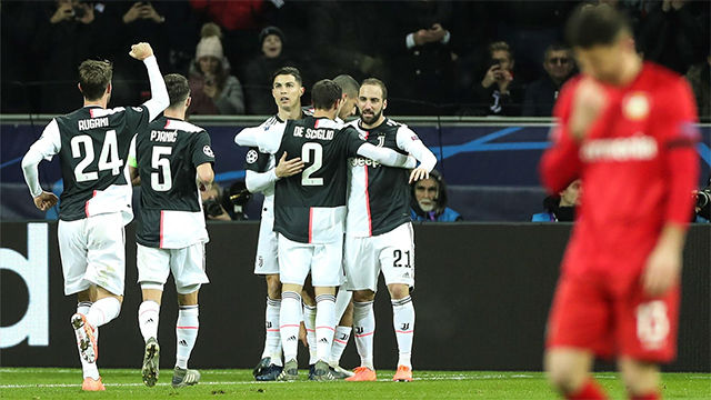 La Juve pasa el trámite ante el Leverkusen