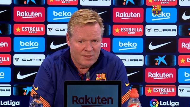 Koeman elogia el comportamiento de Messi