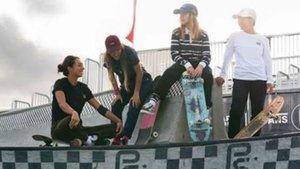 Las clases de skate gratuitas, el plato fuerte de la jornada
