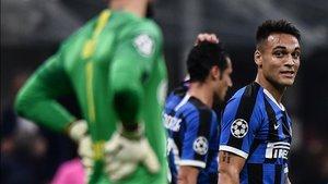 Lautaro, providencial en la victoria del Inter por 2-0 sobre el Dortmund