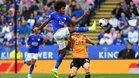 Leicester y Wolves firmaron el empate en un partido gris