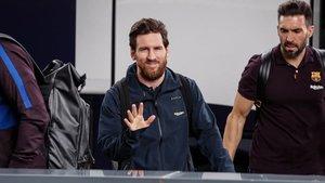 Leo Messi, Eder Sarabia y compañía viajarán a Mallorca el mismo día del partido