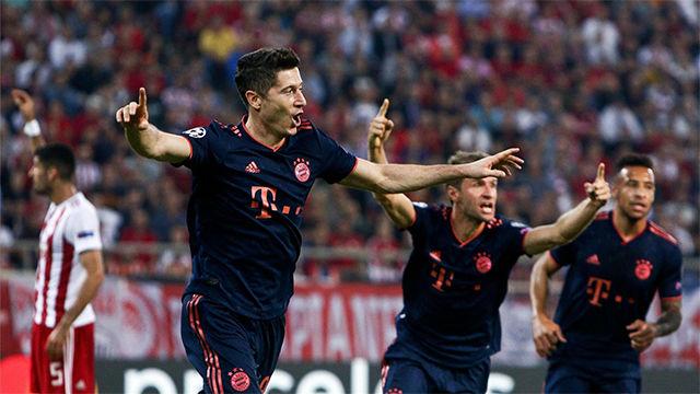 Lewandowski salva los muebles del Bayern
