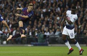 Liga de Campeones Tottenham, 2 - FC Barcelona, 4