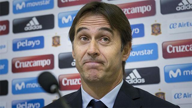 Lopetegui dio la lista de convocados de España para los duelos ante Colombia y Macedonia