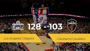 Los Angeles Clippers se impone por 128-103 frente a Cleveland Cavaliers