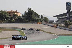 Los espectaculares prototipos de Le Mans ruedan en Barcelona