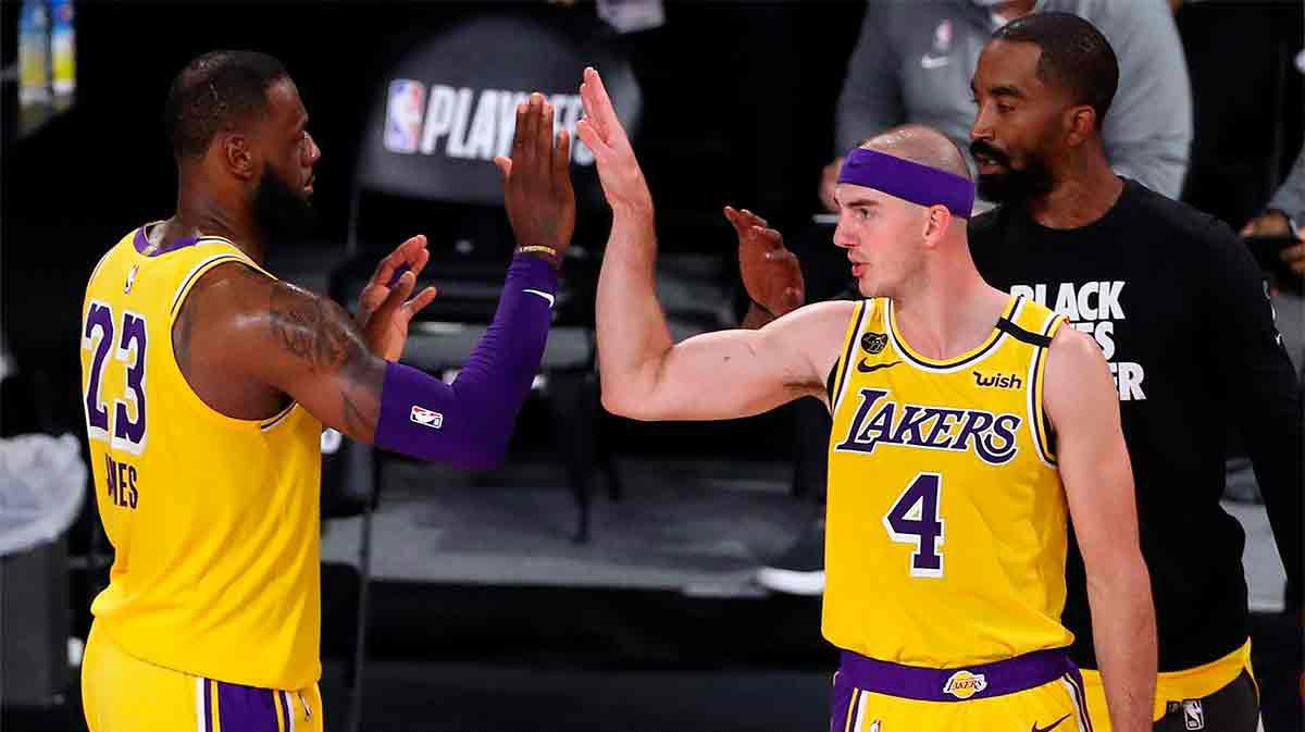 Los Lakers se acercan a la final del Oeste