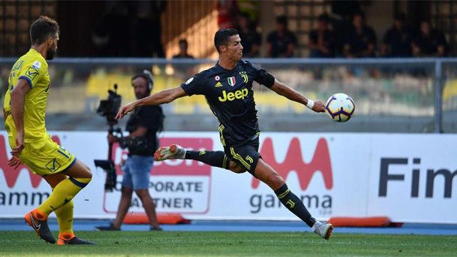 Los mejores momentos de Cristiano en su debut con la Juventus