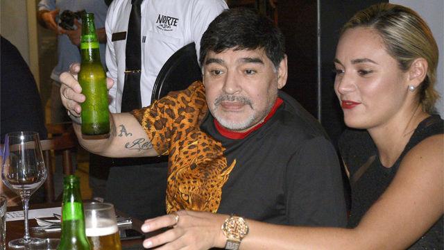 Maradona se solidariza con los damnificados en Sinaloa