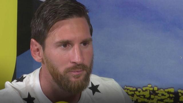 Messi elogió a Riqui Puig