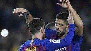 Messi y Luis Suárez siguen haciendo historia