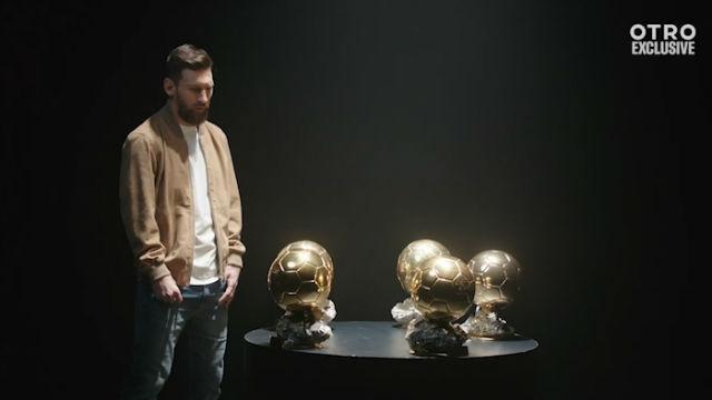 Messi: El primer Balón de Oro fue el más especial