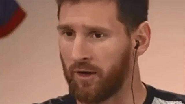 Messi: Me quiero retirar en el Barcelona
