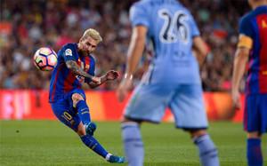 Messi ya tiene el punto de mira ajustado