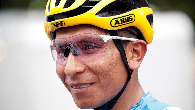 Nairo, sobre Valverde: La carretera dirá quién lidera