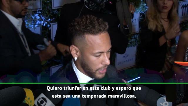 Neymar: Me quedo en el PSG