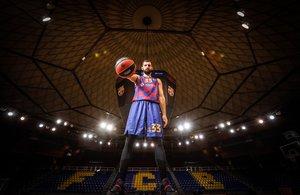 Nikola Mirotic, amplía su contrato con el FC Barcelona hasta 2025. Sus mejores imágenes con el FC Barcelona.