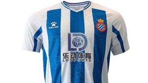 La nueva camiseta del Espanyol