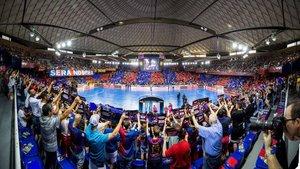 El Palau vivirá la emoción de la Champions en directo en noviembre