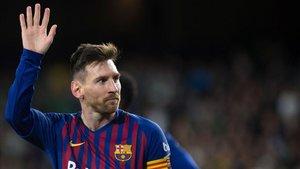 Partidazo de Leo Messi ante el Betis en el Villamarín (1-4)