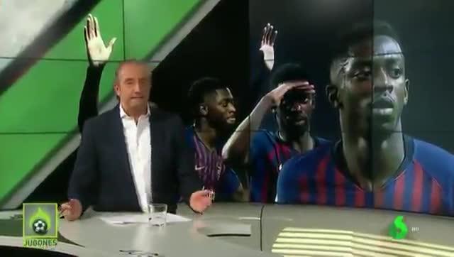 Pedrerol atiza al Barça por la gestión del caso Dembélé