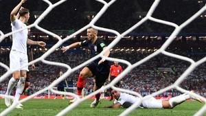 Perisic, tras el gol del empate