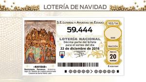 Los cuartos premios de la lotería de Navidad 2016