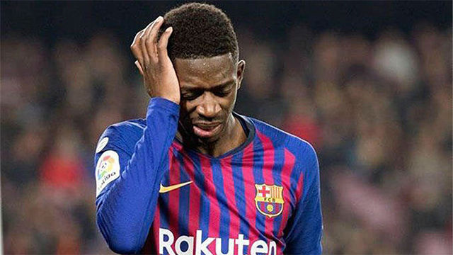 La secuencia del drama de Dembélé: así vivió su enésima lesión