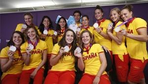 La selección de waterpolo femenina logró una de las platas más especiales