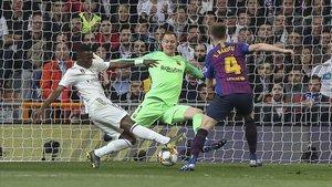 Ter Stegen se mostró infranqueable en el Bernabéu