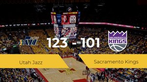 Utah Jazz derrota a Sacramento Kings por 123-101