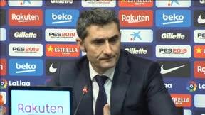 Valverde analizó la victoria ante el Eibar