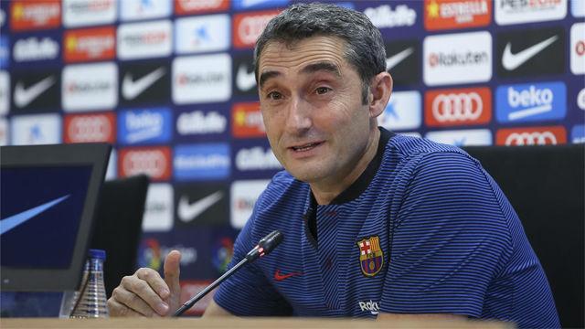 Valverde recuerda que solo han perdido un partido en cada competición