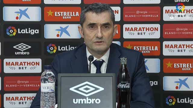 Valverde valoró la victoria ante el Girona