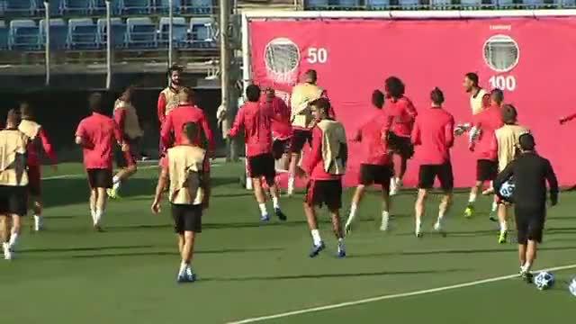 Viendo este ejercicio se entiende la falta de gol del Madrid