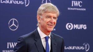 Wenger en los Laureus World Sports Awards